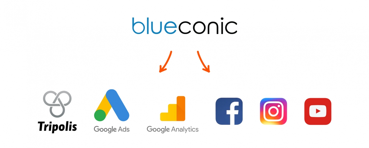 BlueConic touchpoints